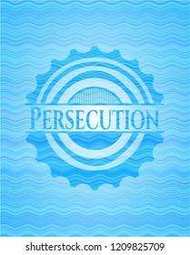 Persecution light blue water emblem.