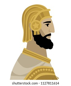 persian emperor king cyrus the great