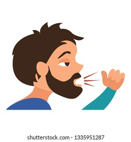 Child Coughing Stock Illustrations, Images & Vectors