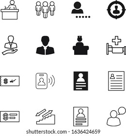 person vector icon set such as: interface, art, aim, team, manager, verified, two, commerce, ambulance, circle, corporate, shape, choose, sitting, argument, stairway, crowd, security, focus, media