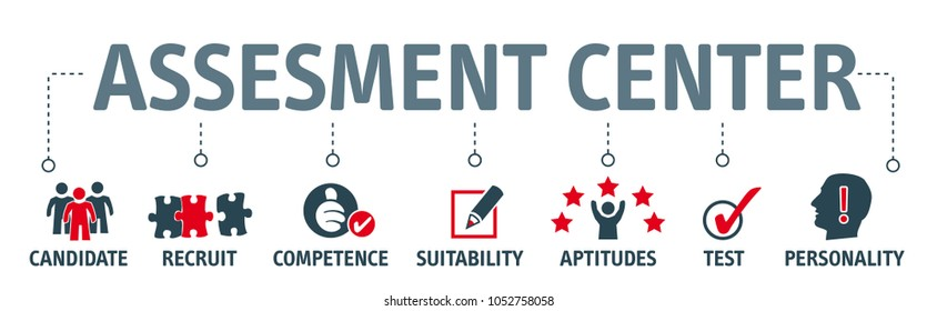 personal audit and assessment center Human resources vector illustration