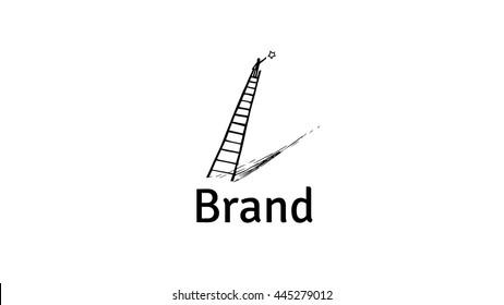 Personal development vector logo template. Life coaching vector logo.