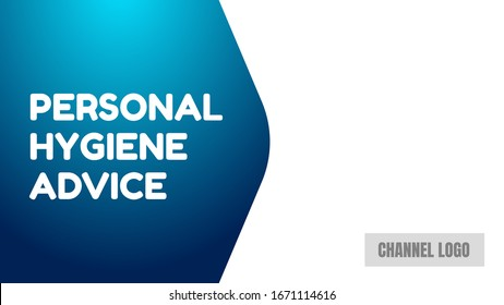 personal hygiene advice cover thumbnails vector