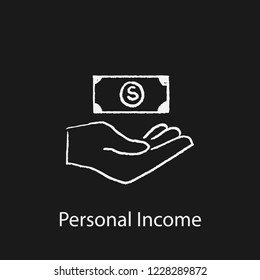 personal income icon. Element of finance icon for mobile concept and web apps. Hand drawn personal income icon can be used for web and mobile