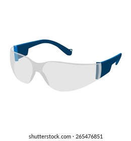 Personal protective equipment glasses