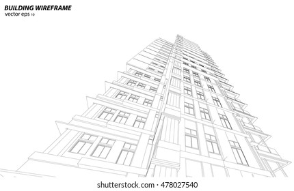 3d Wireframe Render Images Stock Photos Vectors