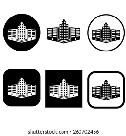 Perspective Building Icons
