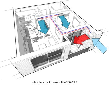 Hvac Diagram Images, Stock Photos & Vectors | Shutterstock