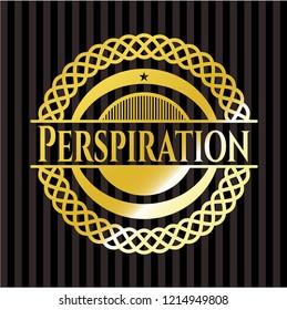 Perspiration gold badge