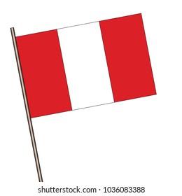 PERU FLAG PERUVIAN COUNTRY Metal License Plate Frame Tag Holder