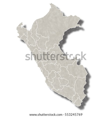 Peru Map City Icon Stock Vector (Royalty Free) 553245769 - Shutterstock