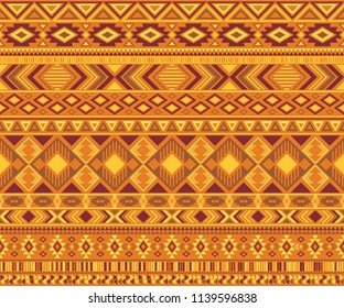 Peruvian american indian pattern tribal ethnic motifs geometric seamless background. Eclectic native american tribal motifs clothing fabric ethnic traditional design. Navajo symbols fabric print.