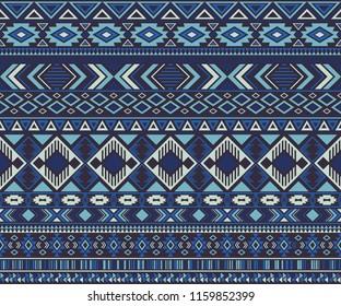 Peruvian american indian pattern tribal ethnic motifs geometric vector background. Rich native american tribal motifs textile print ethnic traditional design. Peruvian folk fashion.