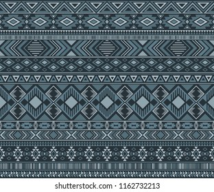 Peruvian american indian pattern tribal ethnic motifs geometric seamless background. Eclectic native american tribal motifs textile print ethnic traditional design. Navajo symbols clothes pattern.