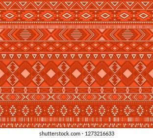 Peruvian american indian pattern tribal ethnic motifs geometric seamless background. Cool native american tribal motifs clothing fabric ethnic traditional design. Navajo symbols textile pattern.