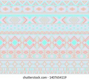 Peruvian american indian pattern tribal ethnic motifs geometric vector background. Vintage native american tribal motifs textile print ethnic traditional design. Navajo symbols clothes pattern.