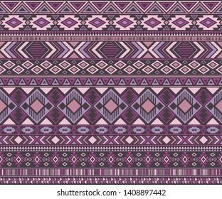Peruvian american indian pattern tribal ethnic motifs geometric seamless background. Cool native american tribal motifs clothing fabric ethnic traditional design. Navajo symbols fabric print.