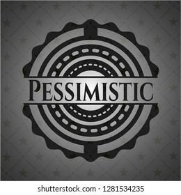Pessimistic dark emblem