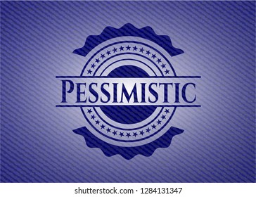 Pessimistic with jean texture