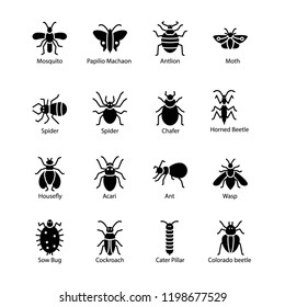 Pest Insect Icons