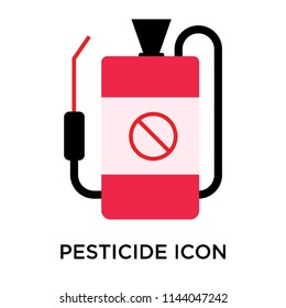 Pesticide icon vector isolated on white background for your web and mobile app design, Pesticide logo concept