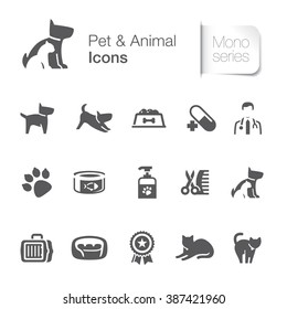 Pet & animal related icons.