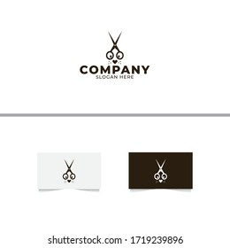 Pet Barbershop Logo Design Template