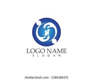 Pet icon logo vector template