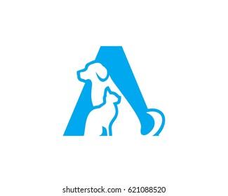 A pet logo