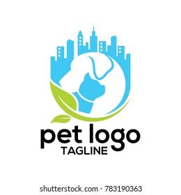 pet logo vector