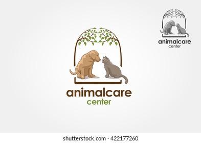 Pet logo vector illustration