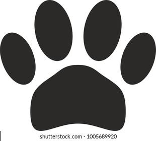Pet paw imprint