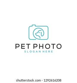 pet photography logo design