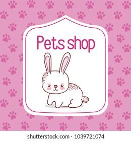 Pet shop cartoon