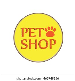 pet shop logo a
