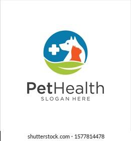 Pet Shop Logo . Pet logo design . Dog cat logo . Animal Pet Care Logo,Pet House,Vet , Store , Pet Health