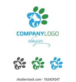 Pet Shop Vector Logo