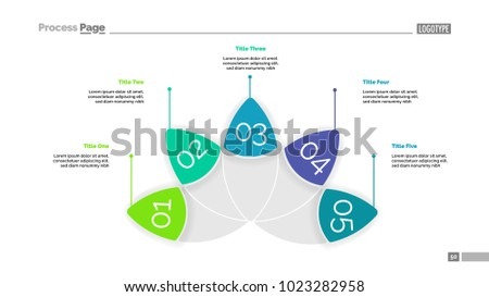 Petal Diagram Five Elements Template Stock Vector (Royalty Free ...