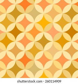 Petal shaped pattern inspired by 'flower of life' symbol.
