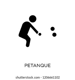 Petanque icon. Petanque symbol design from Activity and Hobbies collection. Simple element vector illustration on white background.