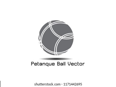 A Petanque  Icon - Petanque  Vector illustration EPS 10.