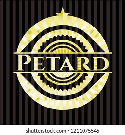Petard golden emblem