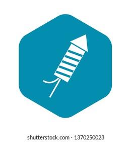 Petard icon. Simple illustration of petard vector icon for web