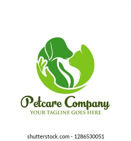Petcare Logo company icon for Animals care