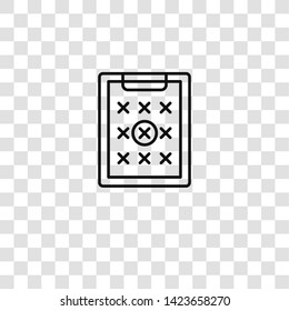 petition icon from activist collection for mobile concept and web apps icon. Transparent outline, thin line petition icon for website design and mobile, app development