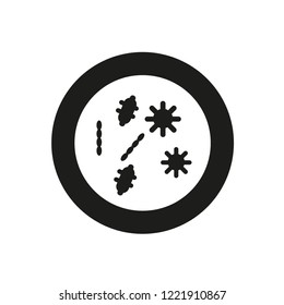 Petri dish icon. Trendy Petri dish logo concept on white background from Health and Medical collection. Suitable for use on web apps, mobile apps and print media.