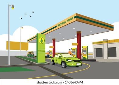 Petrol Station Images, Stock Photos & Vectors | Shutterstock