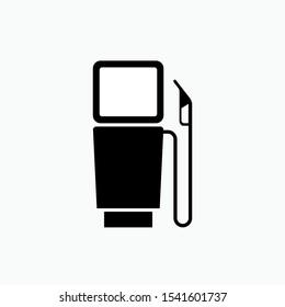 Petrol Station - Vector, Sign and Symbol for Design, Presentation, Website or Apps Elements.