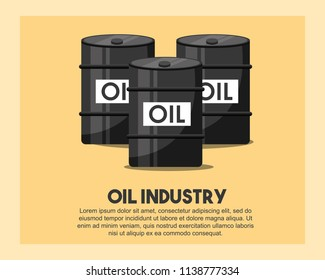 petroleum barrels oil industry