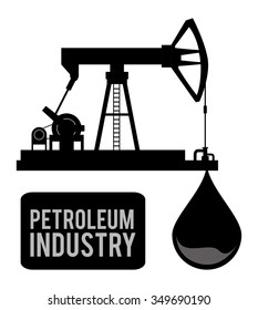 Petroleum concept with price icons design, vector illustration 10 eps graphic.